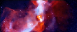 Galactic Super-volcano