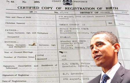 Barack Obama releases birth certificate (again) - Astrology readings ...