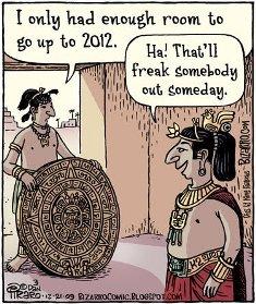 2012 end of Mayan calendar