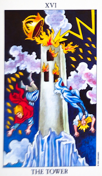 catastrophe Tower Tarot