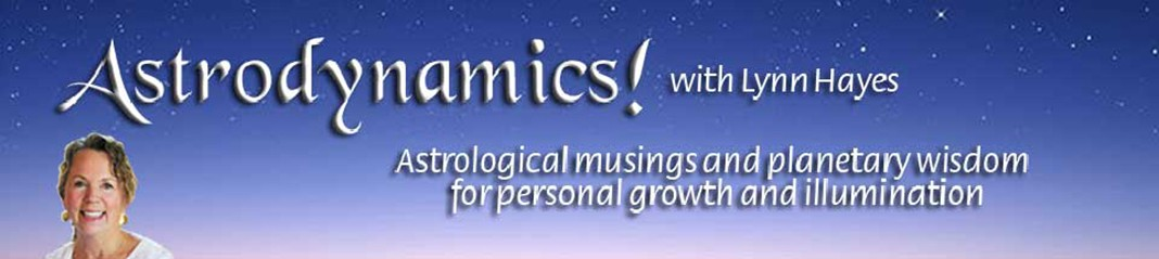 Astrology readings and writings by Lynn Hayes Retina Logo