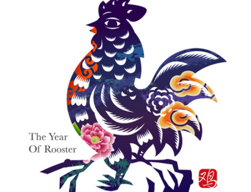 Happy Chinese New Year!  It's the Year of the Rooster