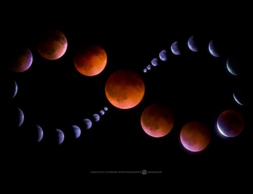 Lunar eclipse in Leo, February 10 2017: A fiery awakening