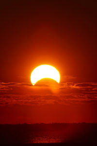 partial solar eclipse February 15