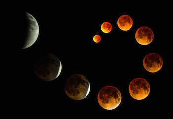 Planetary news this week! Mercury retrograde and a total lunar eclipse