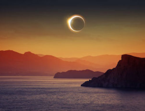 Today's partial solar eclipse is a powerhouse of grounded energy