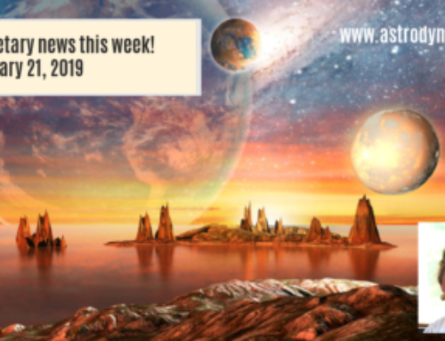 Planetary news this week!  January 21, 2019