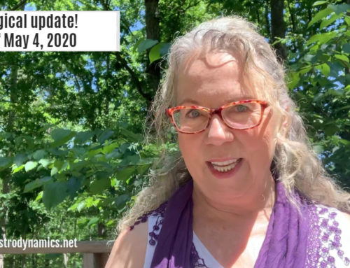 Astrological update for the week of May 4, 2020: video and transcript