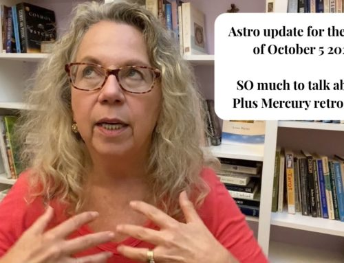 Astro update for the week of October 5, 2020: The end of Saturn/Pluto, and lots more