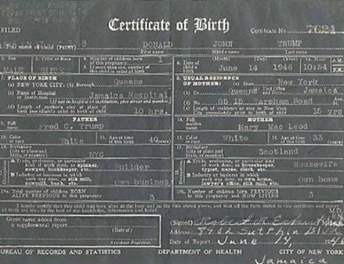Clearing up confusion about Trump's birth data